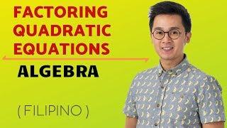 Grade 9 Math | Factoring Quadratic Equations|Number Bender