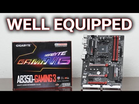Gigabyte AB350 Gaming 3 - Well Equipped for $99