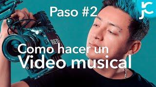 Como GRABAR un VIDEO MUSICAL 🚀 PASO #2 PRODUCCIÓN - como HACER un VIDEOCLIP