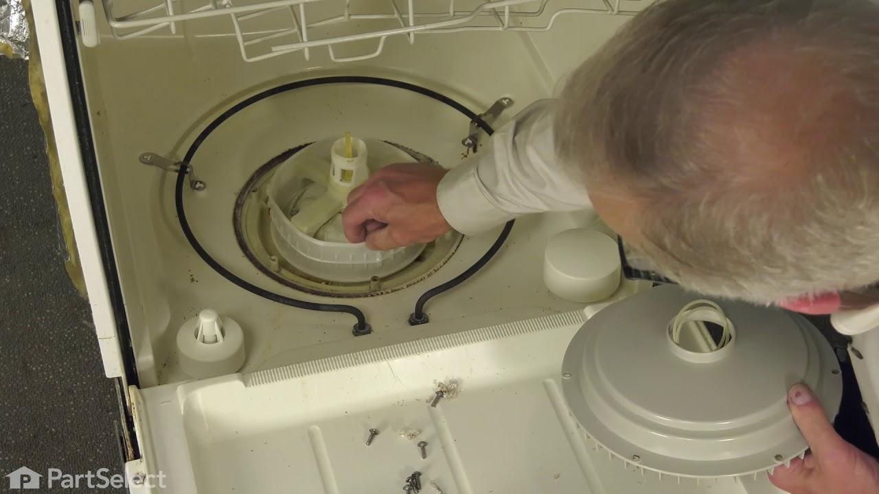 Replacing your Maytag Dishwasher Pump Housing Filter