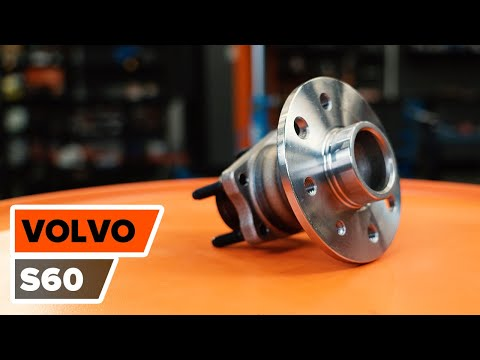 How to replace a Rear wheel bearing on VOLVO S60 TUTORIAL | AUTODOC