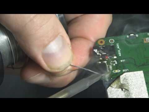 Замена разъёма Micro USB на планшете Lenovo Miix 3-830