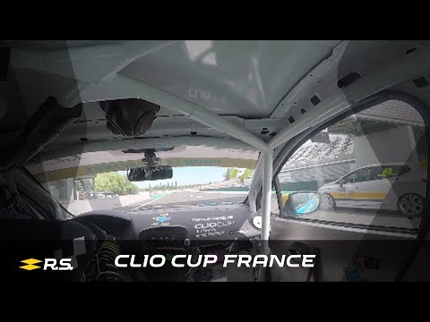 2018 Clio Cup France - Magny-Cours - Onboards Race 2