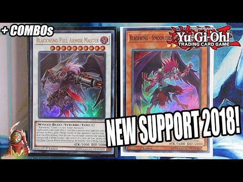 Yu-Gi-Oh! BEST! NEW BLACKWING DECK PROFILE! FULL ARMOUR MASTER  + COMBOS! SEPTEMBER 2018 BANLIST!
