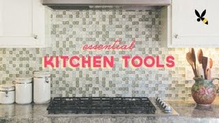 Essential Kitchen Tools For Your First Apartment