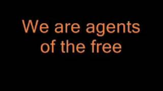 R.E.M. - Orange Crush with lyrics