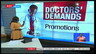 KTN Prime: President Uhuru Kenyatta burns the midnight oil to strike a deal with striking Doctors'