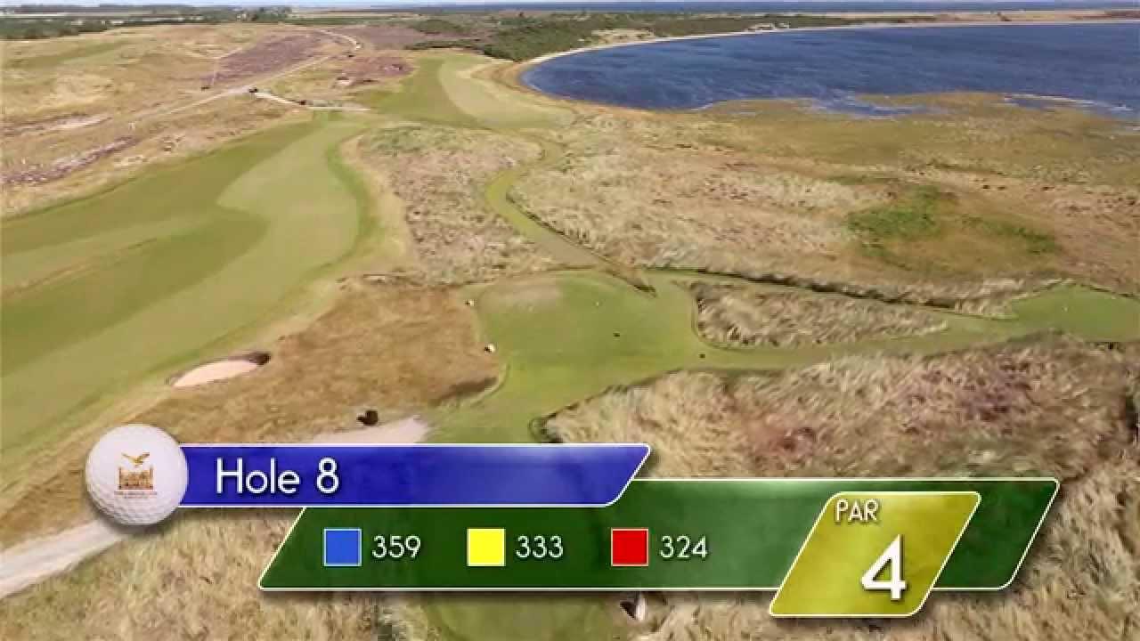 Carnegie Links Hole 8 - YouTube video