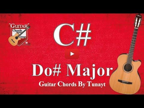 ★ ★ ★ Do# major | How to play C# chord on guitar | Do# Major Akoru Gitarda Nasıl Basılır ?