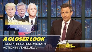 Trump Threatens Military Action in Venezuela: A Closer Look