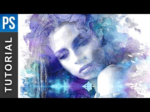 Beautiful Watercolor Portrait Effect – Photoshop Tutorial