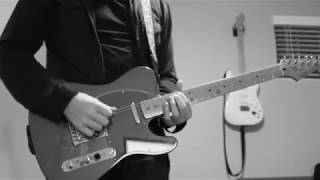 Bauhaus – Dark Entries (Guitar Cover)