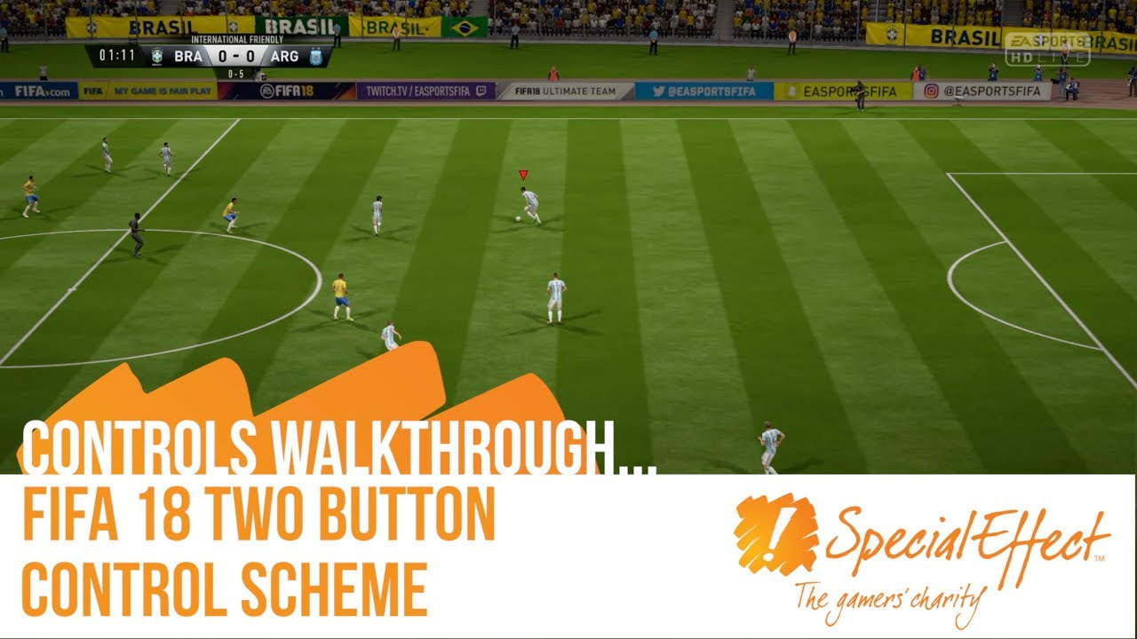 video placeholder for FIFA 18 Two Button Controls | Controls Walkthrough