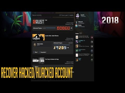 Account Hijacked and Email hacked (WHAT TO DO 2019) :: Help and Tips