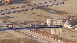 preview picture of video 'Elektrownia Opole Doozers, część 1 (luty 2015)'