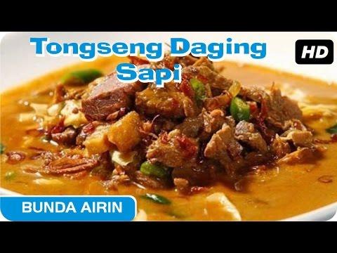 Video Tongseng Daging Sapi Resep Bumbu Dapur Indonesia Bunda Airin - Enak Dan Lezat