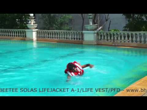 Solas Compliant IRS Approved Beetee PFD Floating Adult Life Jacket