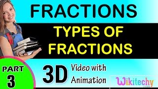 Types Of Fraction Maths Class 1,2,3,4,5,6,7 Tricks, Shortcuts, Online Videos Cbse Puzzles