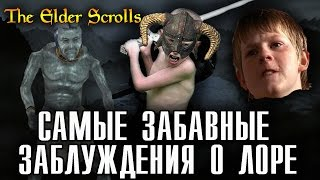 Самые забавные ЗАБЛУЖДЕНИЯ игроков о лоре The Elder Scrolls [AshKing]