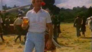 Paul Hogan in Scotland Fosters Lager Advert