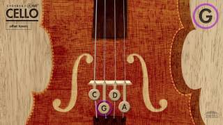 Cello Tuner (CGDA) in A 440Hz