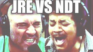 Joe Rogan VS Neil Degrasse Tyson Supercut Edition