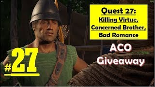 Assassins Creed Odyssey - Killing Virtue - Concerned Brother - Bad Romance