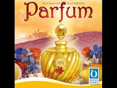 The Purge: # 977 Parfum: A dice worker sort of game where you get to make parfum