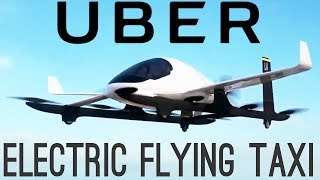 "우버의 전기 비행 택시 ""Uber's Electric Flying Taxis 