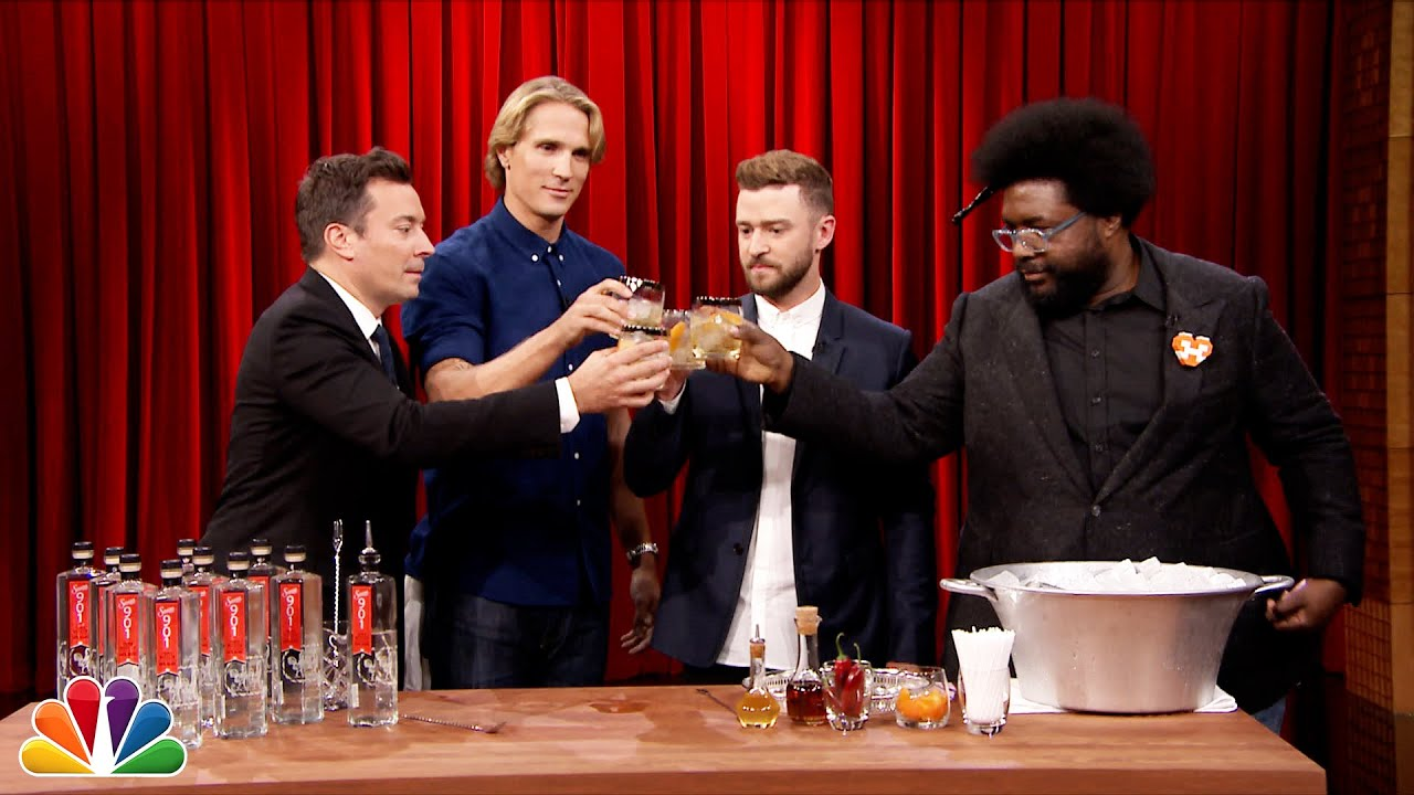 Justin Timberlake Teaches Jimmy How to Make a Tequila Cocktail thumbnail