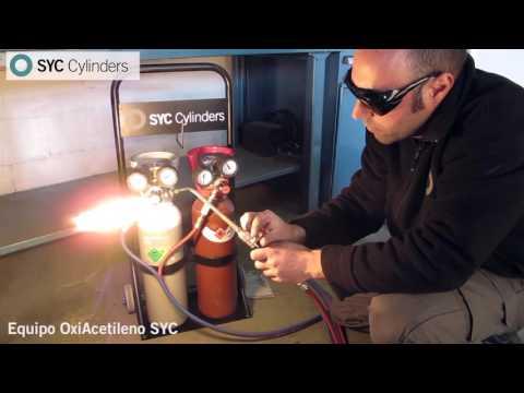 Equipo de Soldadura Oxigeno Acetileno (Oxi-Acetileno)