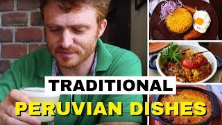 Eating Traditional Peruvian Food in Lima, Peru at El Bodegón Restaurant