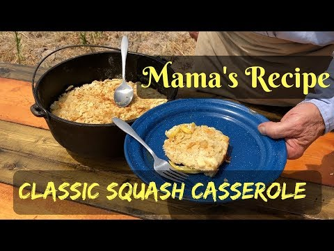 Squash Casserole – Cheesy Traditional Recipe