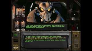 Fallout 2 has interesting dialogue