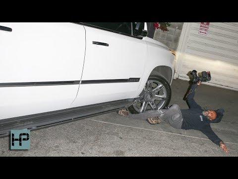 YIKES! JLo's SUV Runs Over a Paparazzi - Pins His Leg Under the Wheel