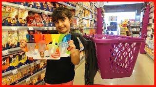Markete Dondurma Kabı Almaya Gittik | Kız Çocuk | Rüya'nın Çiftliği