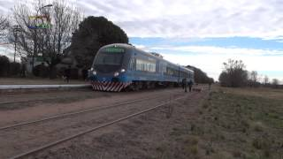 preview picture of video 'Tren inaugural de Trenes Argentinos a General Pico pasando por Speluzzi'