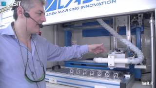 Sistem de marcare / gravare cu laser - Lasit FlexyMark