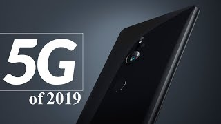 Top five 5G phones to expect in 2019 - Check your favourite smartphone is in the list!!!