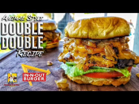 In n Out Double Double Animal Style   Copycat Recipes