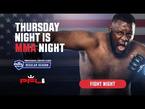 PFL6 | 2019 Live at Ocean Resort Casino in Atlantic City, NJ