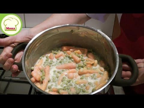 Erbsen & Möhren Gemüse problemlos zubereiten