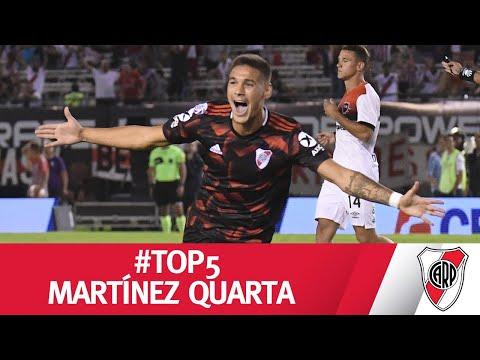 #TOP5 - Los mejores goles de MARTÍNEZ QUARTA