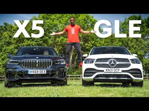 Mercedes GLE vs  BMW X5: Which Is The BEST Premium SUV?   4K