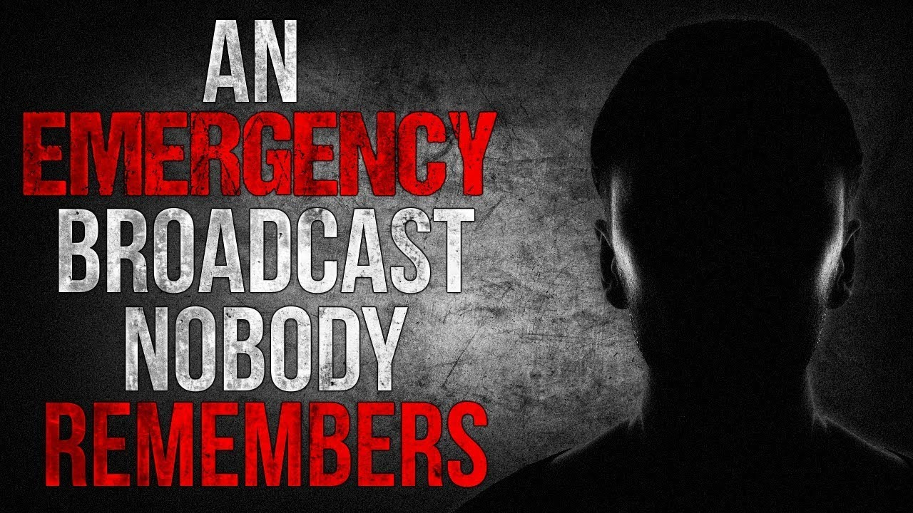 An Emergency Broadcast Nobody Remembers