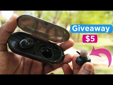 Best Budget True Wireless Earbuds 2018 ( giveaway )