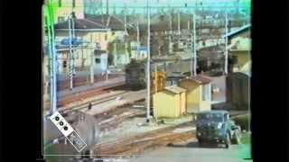 preview picture of video 'FERROVIE ITALIA - Anni 1980 - Milano Stazione Certosa,Stazione Lambrate'