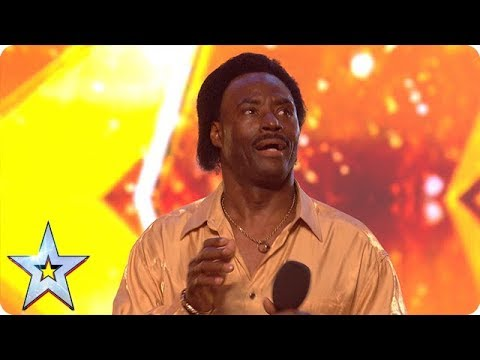 Donchez bags a GOLDEN BUZZER with his Wiggle and Wine!   Auditions   BGT 2018 (видео)