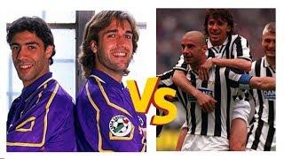 Juventus 3-2 Fiorentina (1994) // Historical Match // Goals