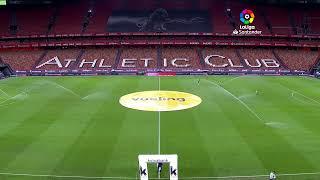 Calentamiento Athletic Club vs Sevilla FC